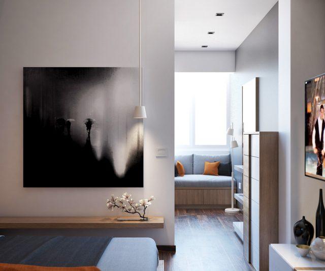thiết kế nội thất phòng ngủ chung cư 8