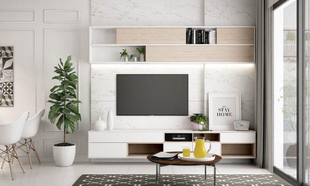 thiết kế phòng khách chung cư nhỏ 2
