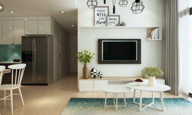 thiết kế phòng khách chung cư nhỏ 3