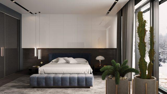 thiết kế phòng ngủ chung cư 2