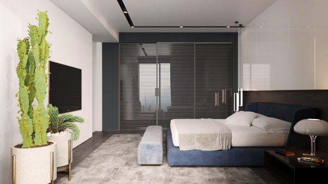 thiết kế phòng ngủ chung cư 3