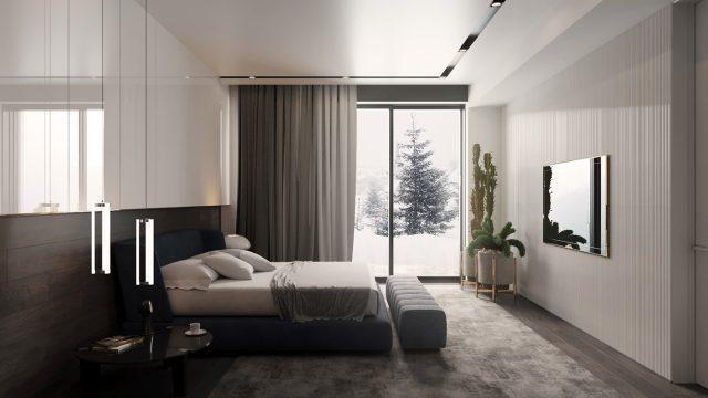 thiết kế phòng ngủ chung cư 4