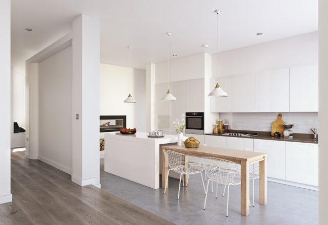 thiết kế tủ bếp cho nhà chung cư
