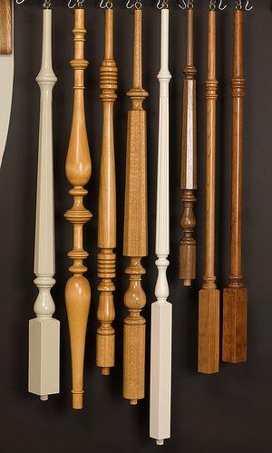 các mẫu con tiện cầu thang gỗ 4