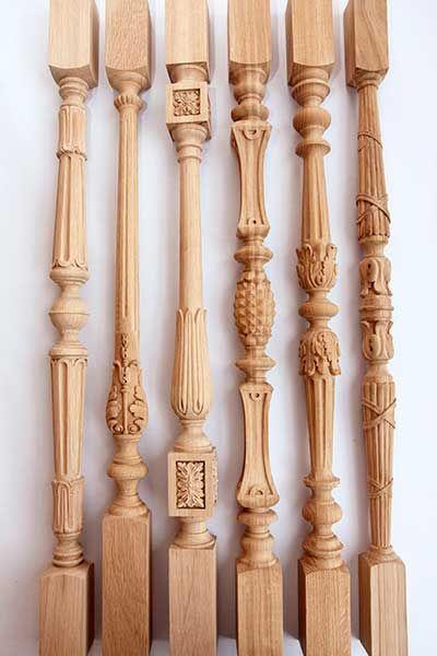 các mẫu con tiện cầu thang gỗ 5
