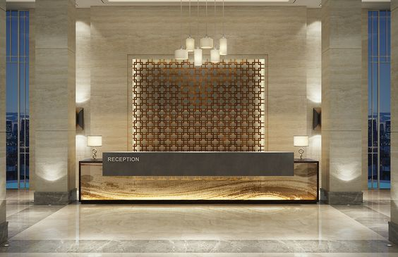 quầy lễ tân khách sạn 5 sao 13