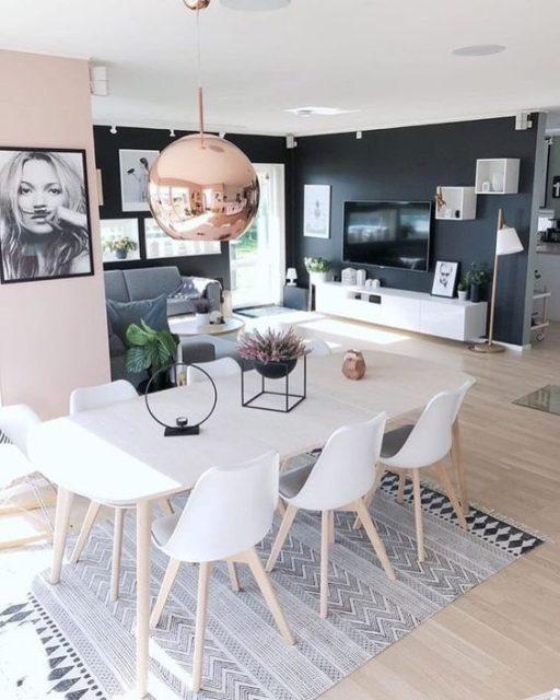 thiết kế phòng khách và bếp liền nhau 3