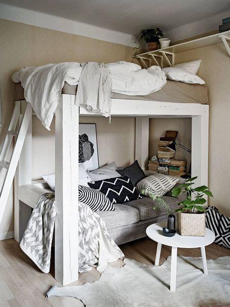 giường tầng cho phòng ngủ 10m2