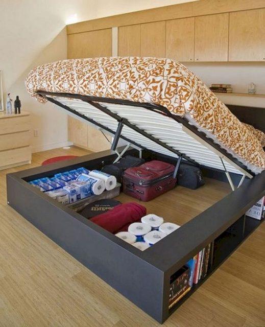 giường thông minh cho phòng ngủ nhỏ