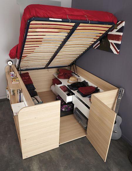 giường thông minh cho phòng ngủ nhỏ 2