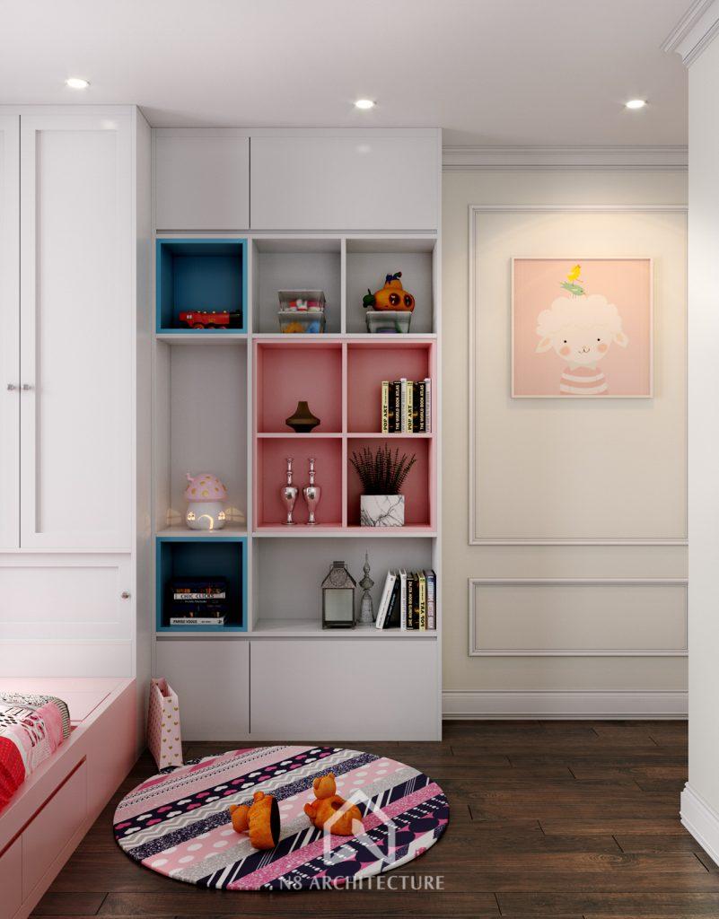 thiết kế nội thất phòng ngủ chung cư An Bình City 10