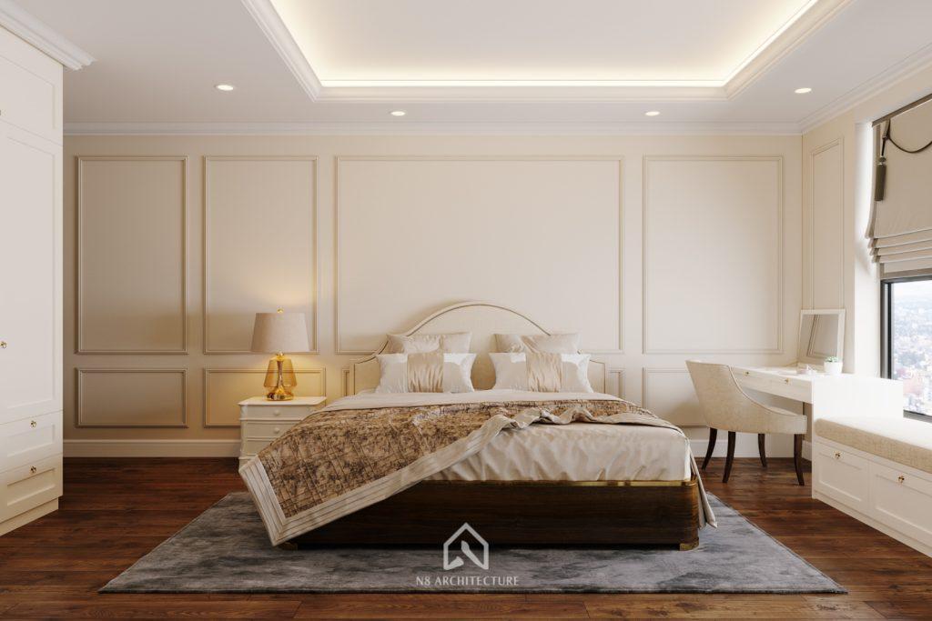thiết kế nội thất phòng ngủ chung cư An Bình City 2