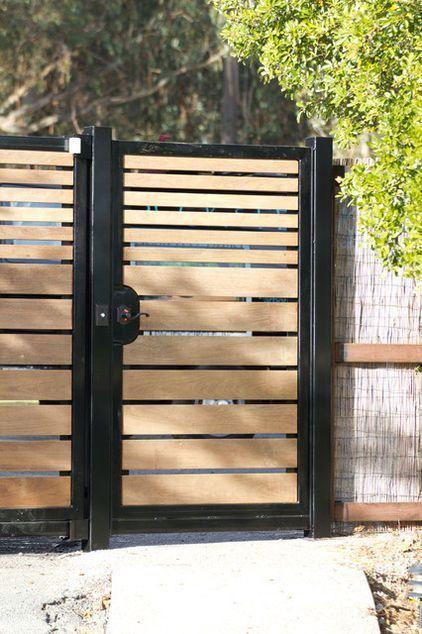 cổng nhà đơn giản mà đẹp 2