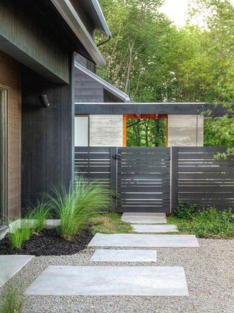cổng nhà đơn giản mà đẹp 3