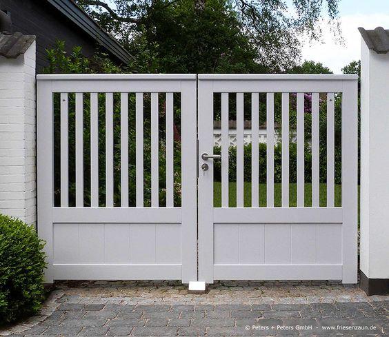 cổng nhà đơn giản mà đẹp 4