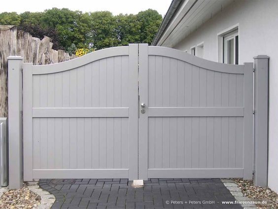 cổng nhà đơn giản mà đẹp 6