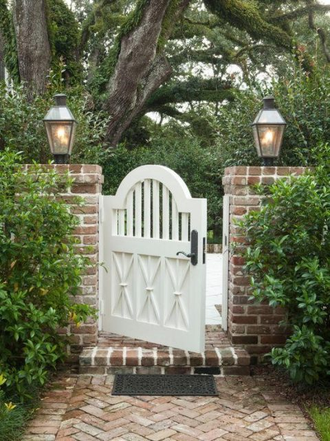 cổng nhà đơn giản mà đẹp 7