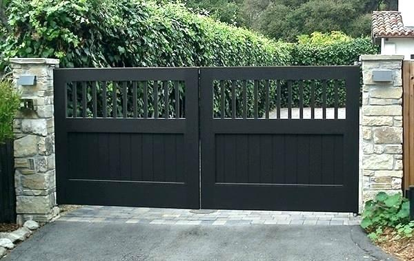 mẫu cổng nhà đẹp 11