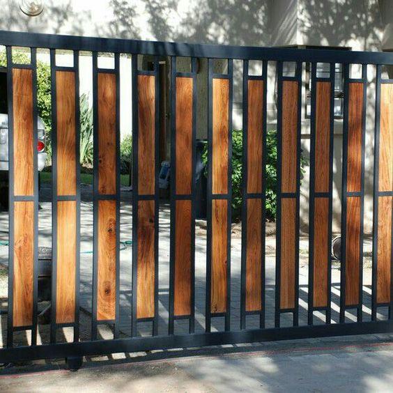 mẫu cổng nhà đẹp 6