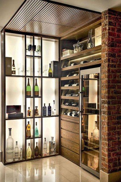 mẫu tủ rượu đẹp 3