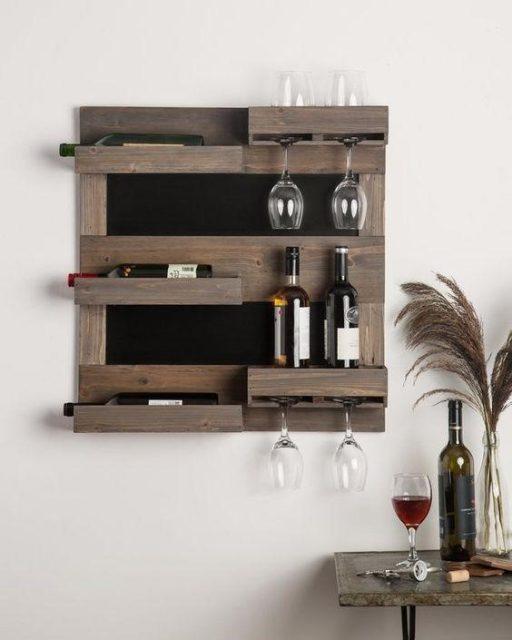 mẫu tủ rượu treo tường 3