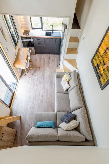 thiết kế nội thất phòng khách 10m2 2