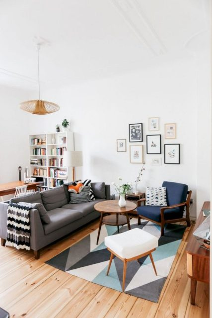 thiết kế phòng khách 10m2 1