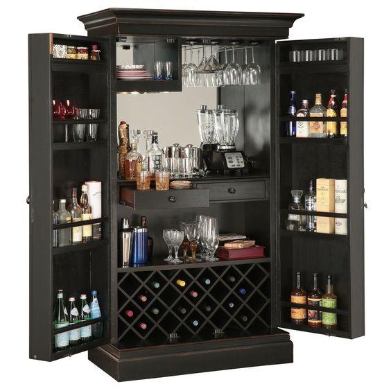 tủ rượu gỗ 2