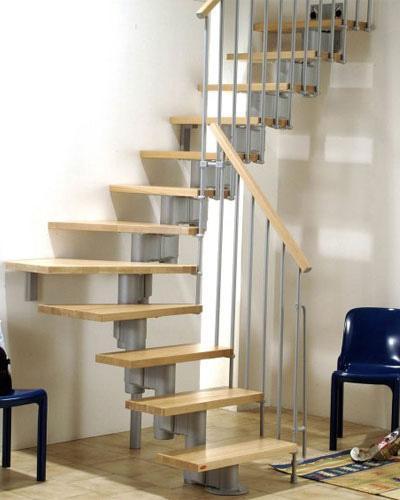 kiểu cầu thang tiết kiệm diện tích 4