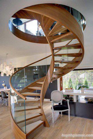 kiểu cầu thang tiết kiệm diện tích 7