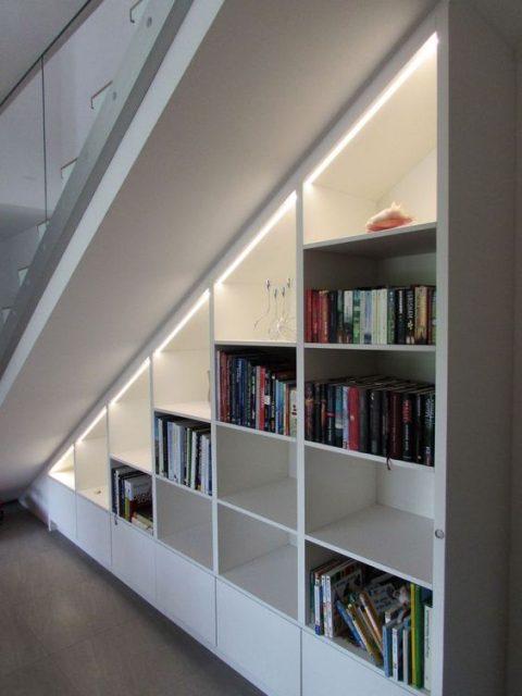 mẫu tủ gầm cầu thang 3