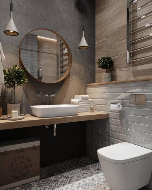 phòng tắm đơn giản mà đẹp 12