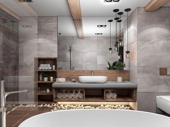 phòng vệ sinh đẹp và hợp lý 12