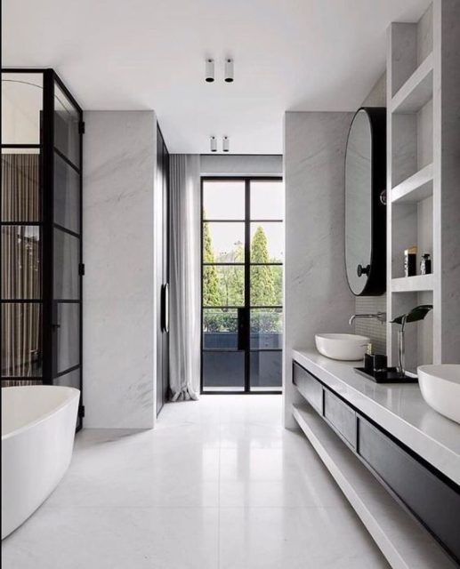 phòng vệ sinh đẹp và hợp lý 13