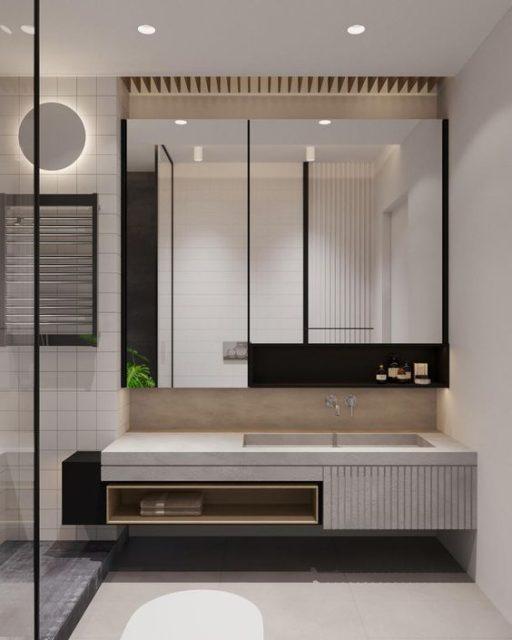 phòng vệ sinh đẹp và hợp lý 9