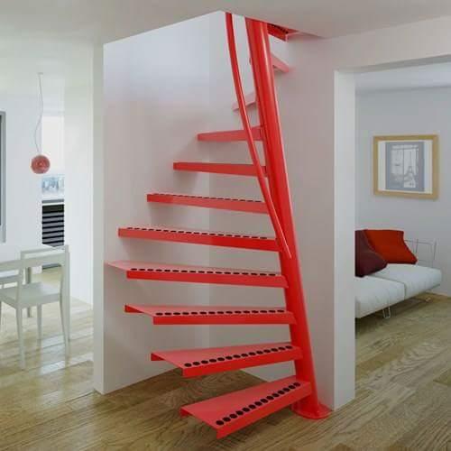 thiết kế cầu thang nhà hẹp