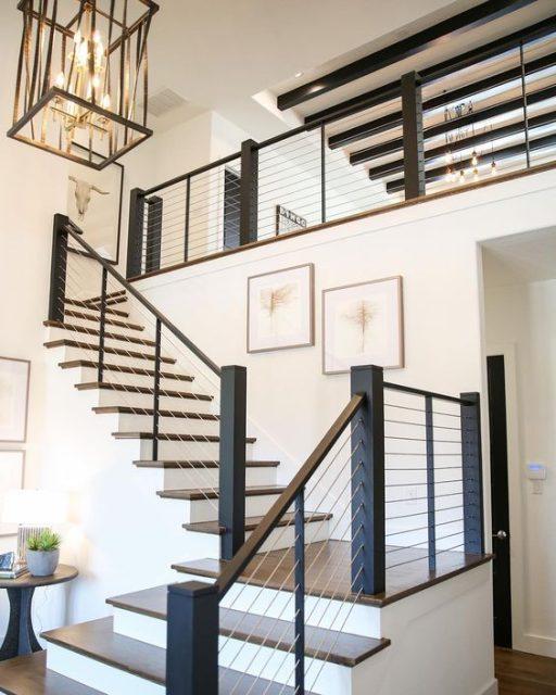 thiết kế cầu thang nhà hẹp 6