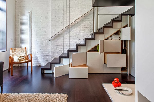 thiết kế cầu thang nhà hẹp 9