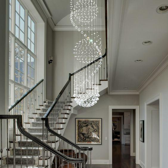 thiết kế phòng khách và cầu thang 3