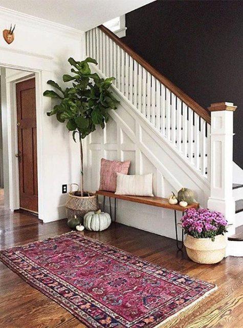 trang trí gầm cầu thang phòng khách 3