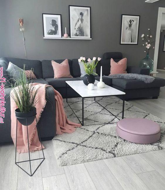 trang trí phòng khách bằng lọ hoa 2