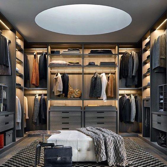 tủ quần áo phòng thay đồ