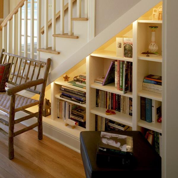 tủ cầu thang phòng khách 5
