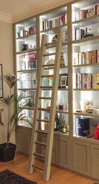 tủ đựng sách bằng gỗ 2