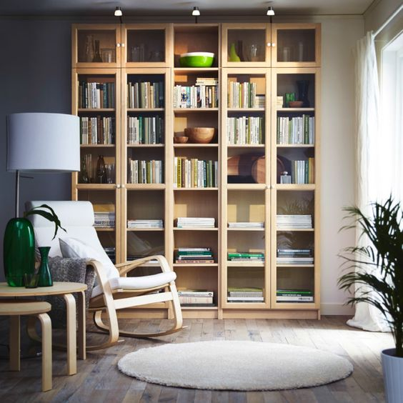 tủ đựng sách bằng gỗ 4