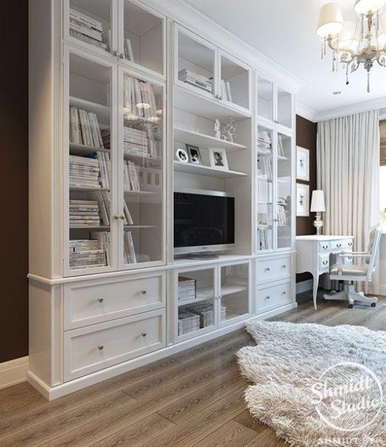 tủ đựng sách bằng gỗ 5