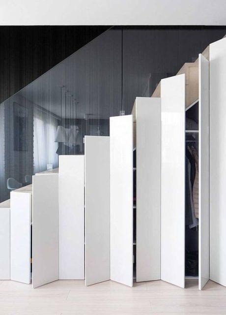 tủ gỗ gầm cầu thang đẹp 7