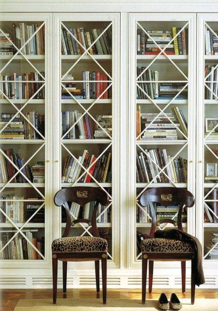 tủ sách có cửa kính 2