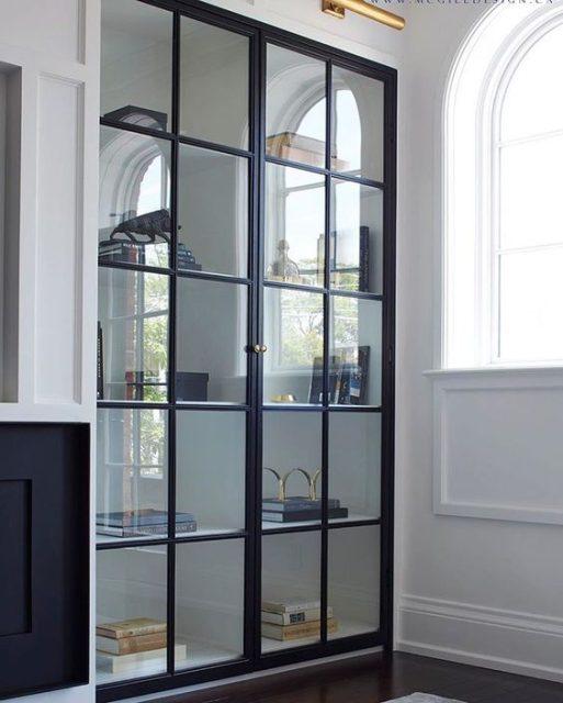 tủ sách có cửa kính 7