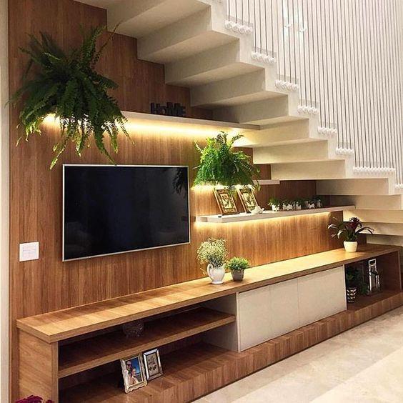 tủ tivi dưới gầm cầu thang 3
